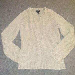Preowned womens AE sweater sz lrg